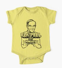 Ron Paul Is My Homeboy One Piece - Short Sleeve