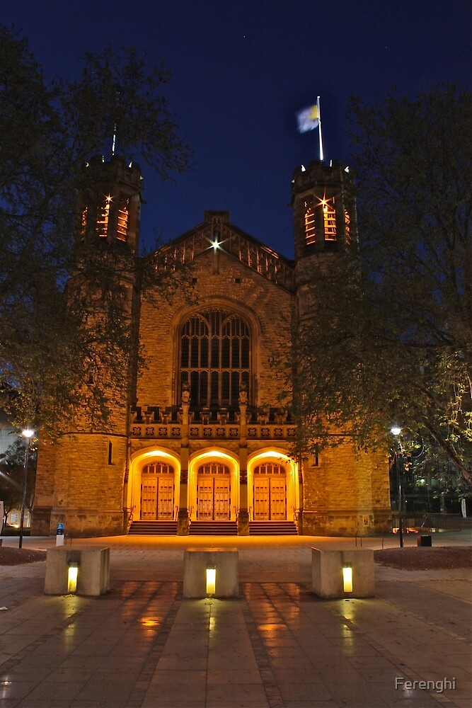 Adelaide University, The Light in the Dark by Ferenghi