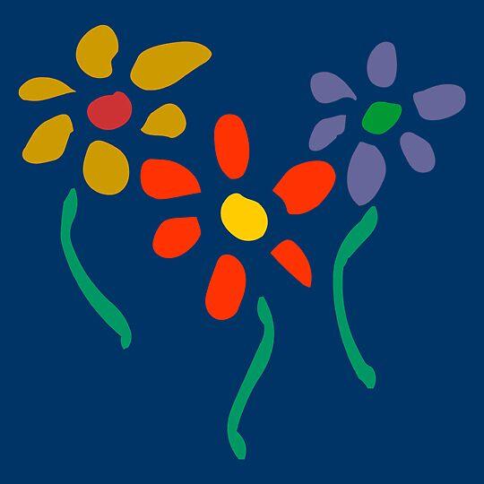 Three Flowers by MalikAlex
