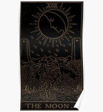 The Moon Tarot Poster