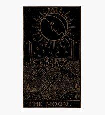 Das Mond Tarot Fotodruck