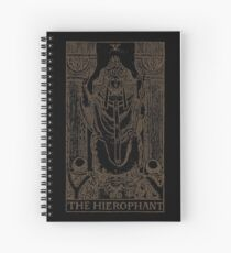 The Hierophant Spiral Notebook