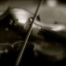 Violin Blur by CreativeShelf