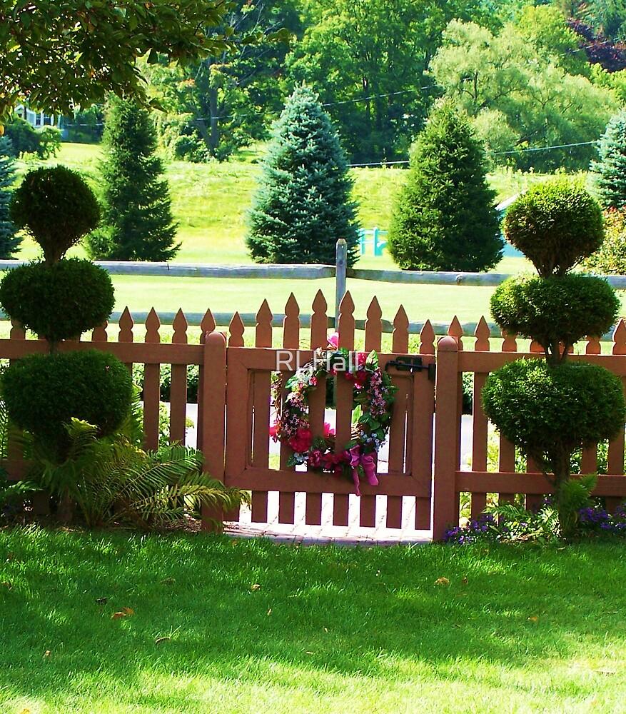 Garden Gate by RLHall