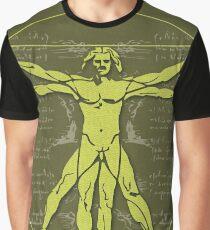 Science Posters - Leonardo Da Vinci - Artist, Inventor, Mathematician Graphic T-Shirt