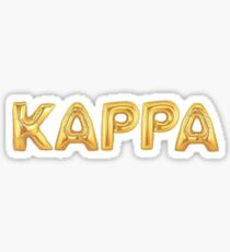 kappa Sticker