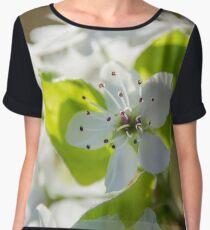 Pear Blossoms 3 Chiffon Top