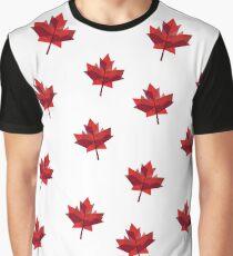 Geometric Leaf Graphic T-Shirt