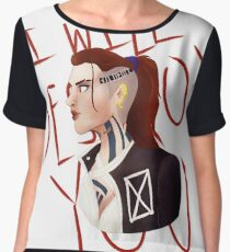 Jack / I WILL DESTROY YOU  Chiffon Top