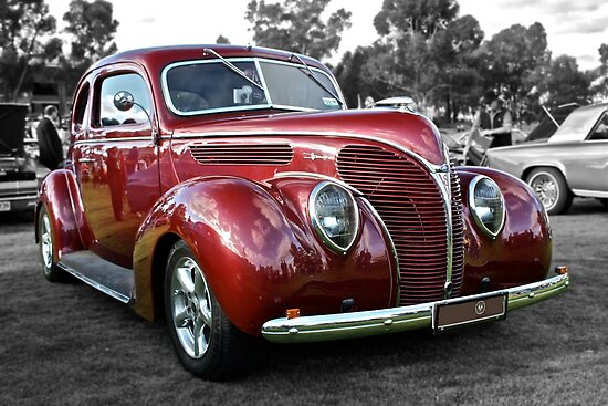 red 1938 ford coupe posters by ferenghi redbubble 1937 Ford Coupe red 1938 ford coupe