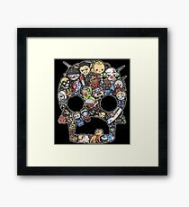 Scary Lil Zombies Framed Print