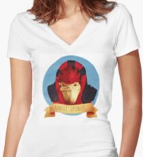 Wrex / UNCLE URDNOT Women's Fitted V-Neck T-Shirt