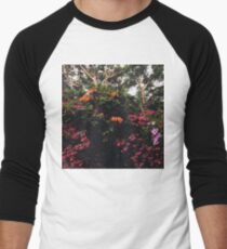 Floral Forest Men's Baseball ¾ T-Shirt