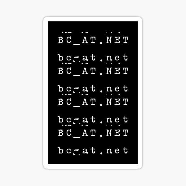 bcat url Sticker