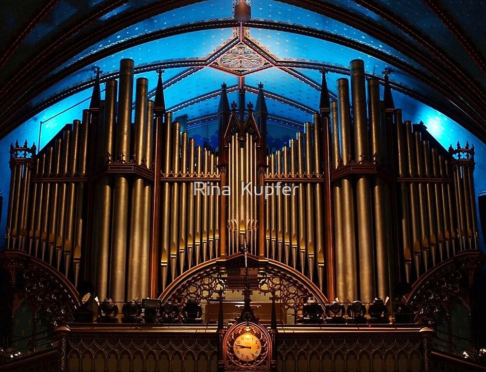 The Casavant-Frères organ by Rina  Kupfer