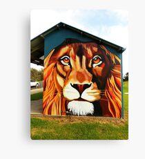 Lion's Head Canvas Print