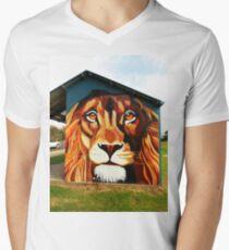 Lion's Head V-Neck T-Shirt