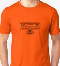Rated Geek (black version) Unisex T-Shirt