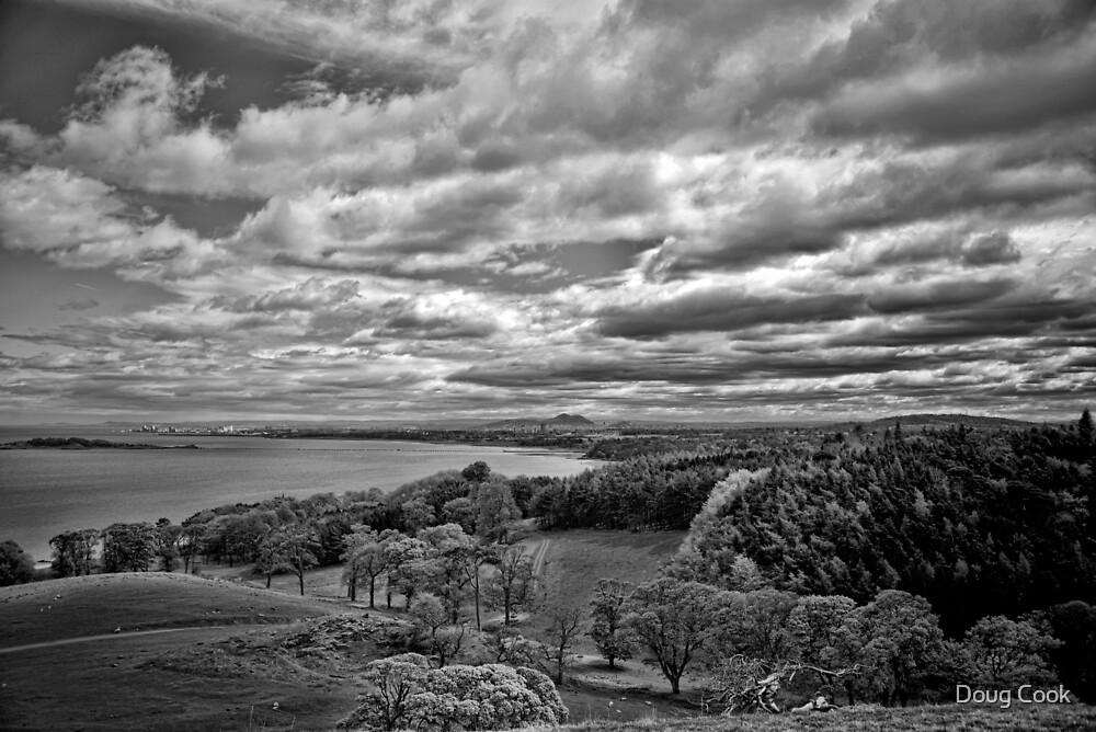 Edinburgh from the Dalmeny Estate by Doug Cook