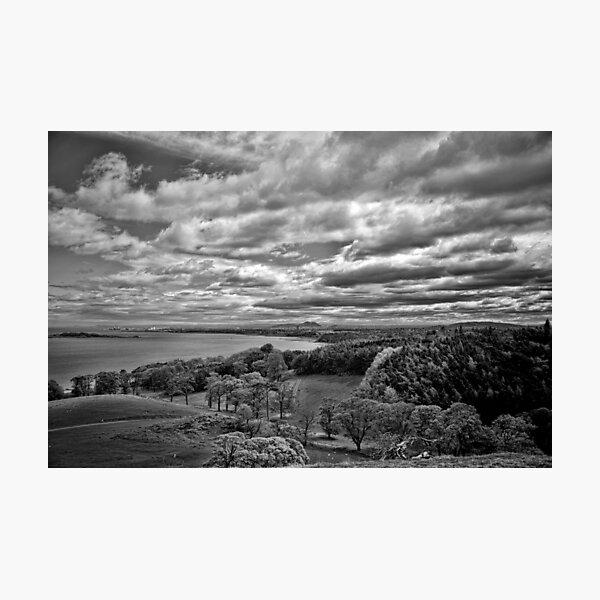 Edinburgh from the Dalmeny Estate Photographic Print