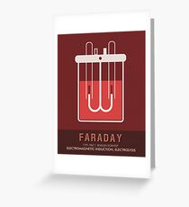 Science Posters - Michael Faraday - Physicist, Chemist Greeting Card