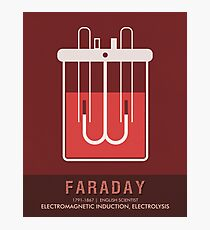 Science Posters - Michael Faraday - Physicist, Chemist Photographic Print