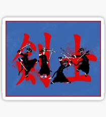 Cat Swordsmen Sticker