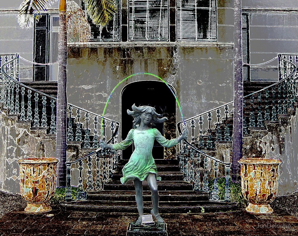 Ghost in a Madeira Mansion by Jon Delorme