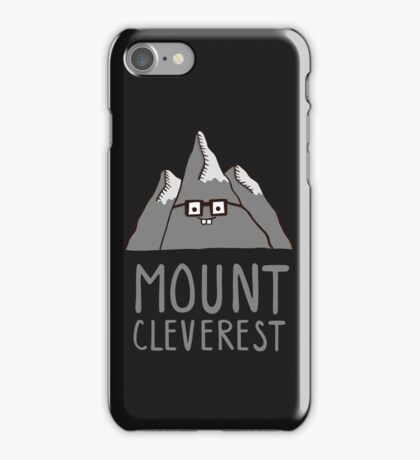 Nerd Mount Cleverest iPhone Case/Skin