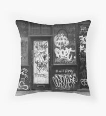 BLOODY KIDS! Throw Pillow