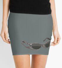 Retro sunglasses - shadow Mini Skirt
