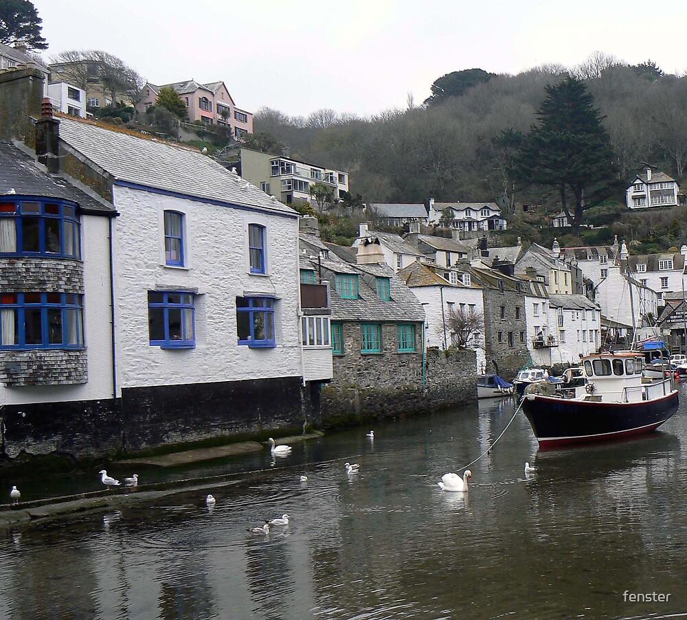 Cornish Village by fenster