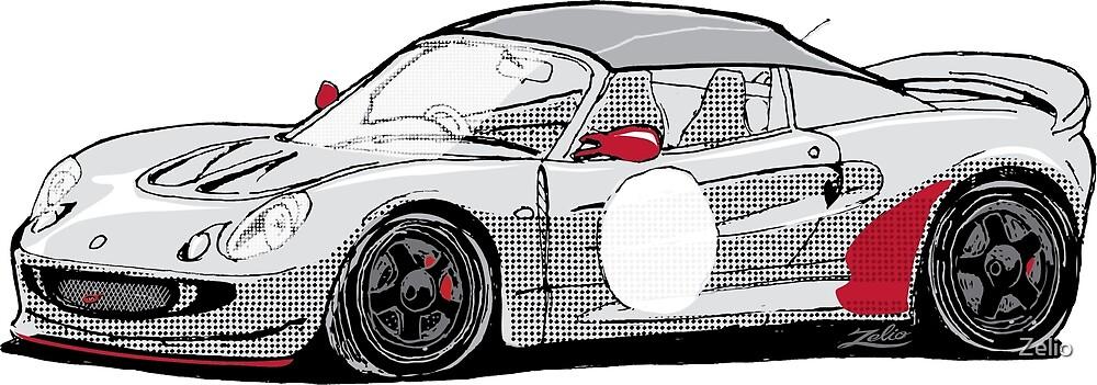 Zelio Race Car by Zelio