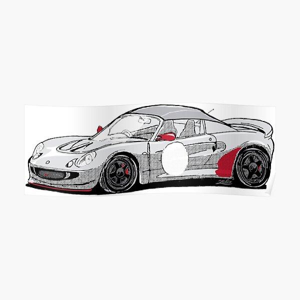 Zelio Race Car Poster