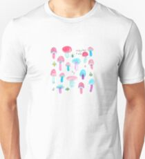 Mushrooms and Bugs Unisex T-Shirt