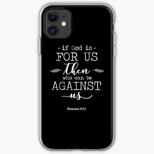 Christian Quote iPhone Soft Case