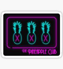 The Pineapple Club Sticker
