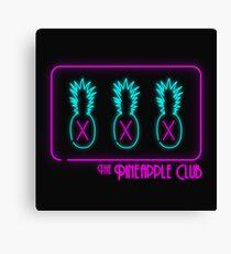 The Pineapple Club Canvas Print