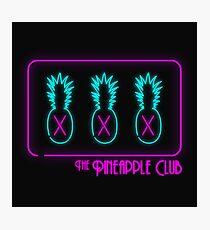 The Pineapple Club Photographic Print