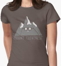 mount cleverest Womens Fitted T-Shirt
