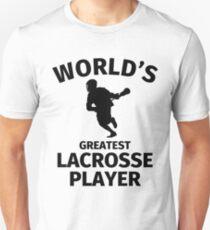World's Greatest Lacross Player Unisex T-Shirt