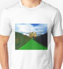 Harwick Hall Derbyshire - more glass than wall Unisex T-Shirt