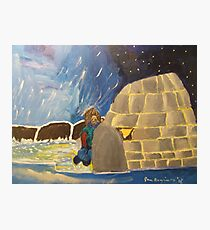 Igloo Greenland Photographic Print