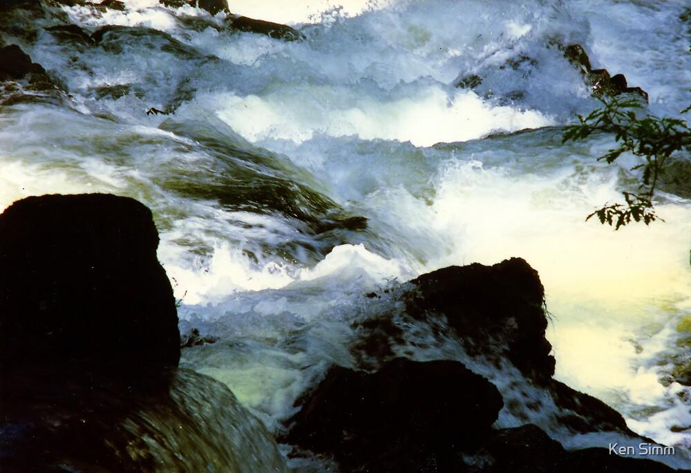River Lledr by Kenart