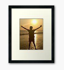 Bali Sunset Framed Print