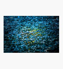 Water Color - Yellow Photographic Print