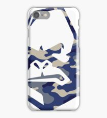 Camo Ape - Navy iPhone Case/Skin