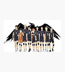 Team Karasuno Photographic Print