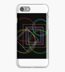 Contrast Patterns iPhone Case/Skin