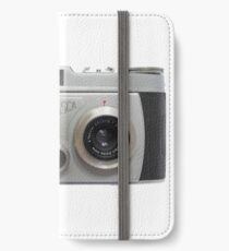 Belplasca Stereo Camera iPhone Wallet/Case/Skin